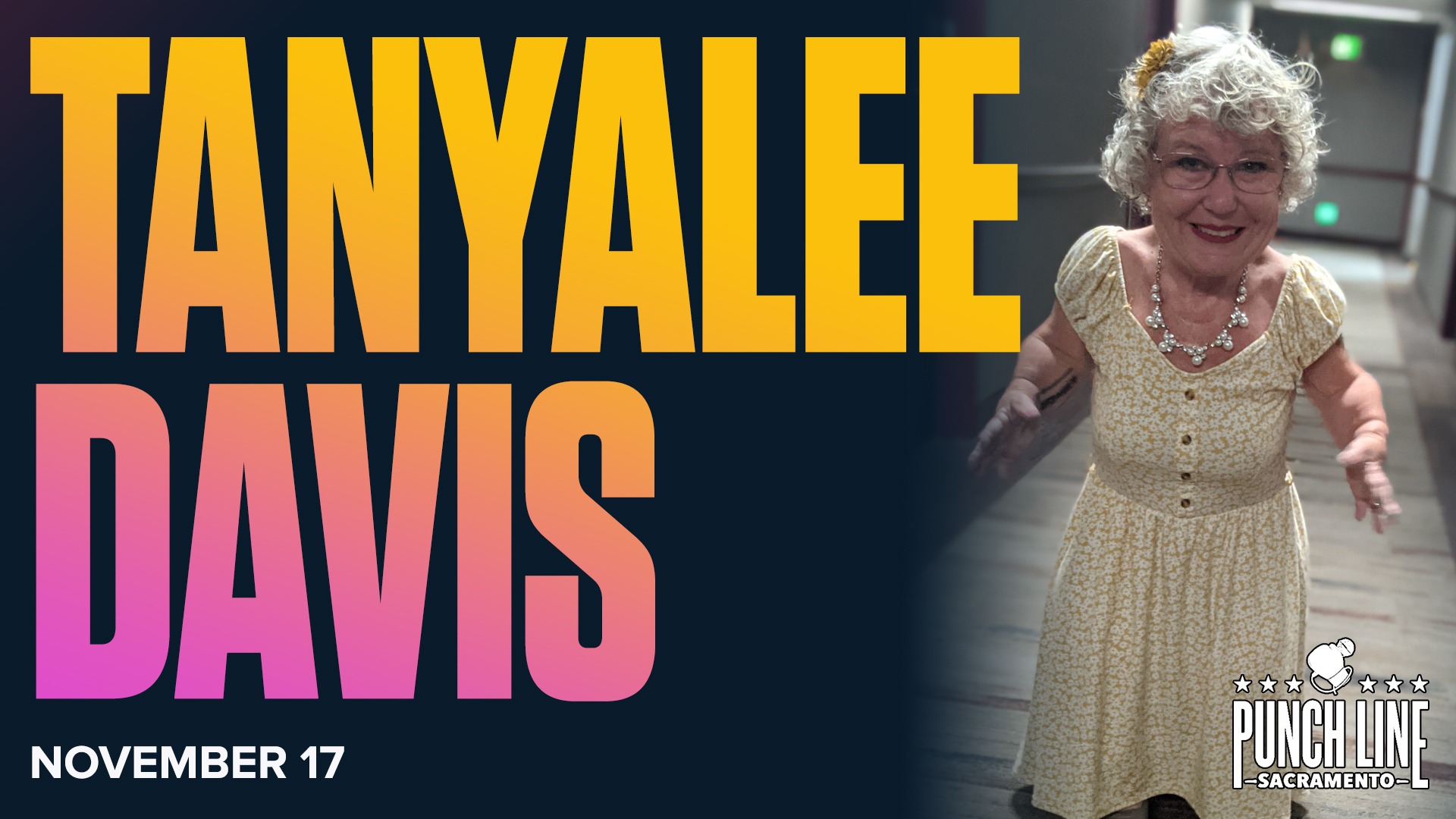 An Evening of HIGH-larity with Tanyalee Davis and Jacoby Ray