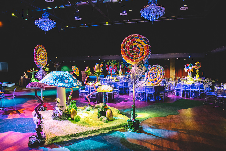 Candy Land Theme Bar Mitzvah